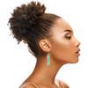 Long Splatter Painted Dangle Earrings - Caribbean Waters