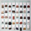 Leather Earrings - Dewdrop