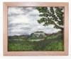 Custom Wool Landscape Painting: Choose Your Size, Frame, and Scene