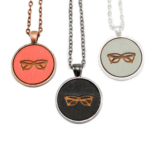Small Cameo Pendants - Eyeglasses