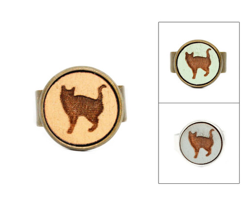 Small Cameo Ring - Cat #8