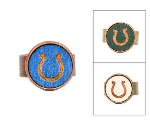 Small Cameo Ring - Horseshoe