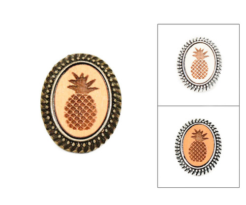 Large Cameo Ring - Pineapple
