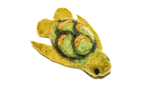 Needle Felted Baby Turtle