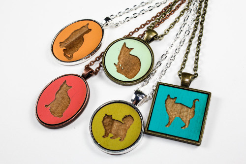 Custom Cat Pendant - Choose Your Style