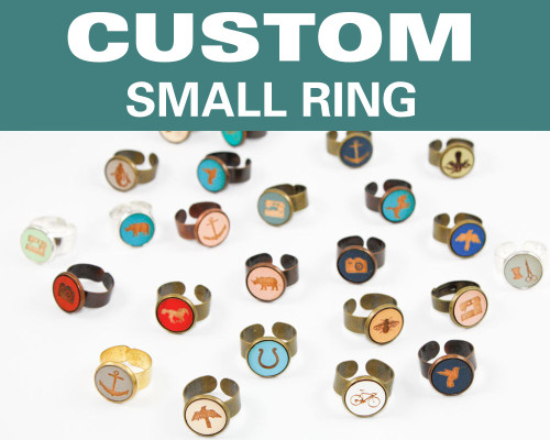 Custom Small Ring - Any Design / Any Color