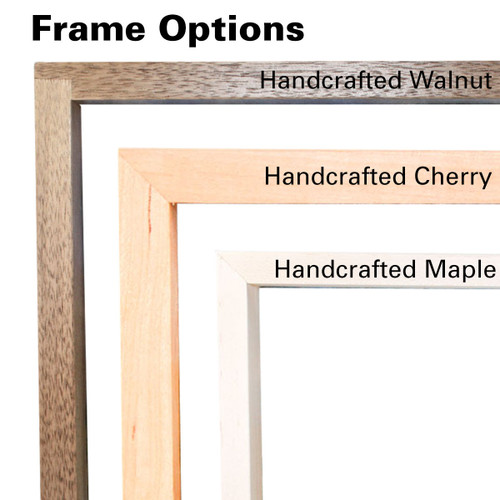 Custom Wool Landscape Painting: Choose Your Size, Frame, and Scene ...