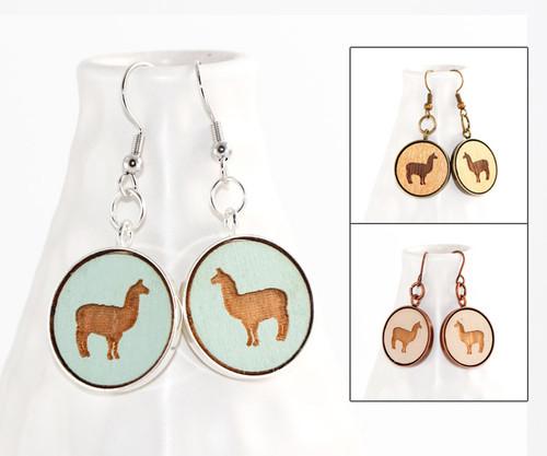 Dangle Earrings - Llama