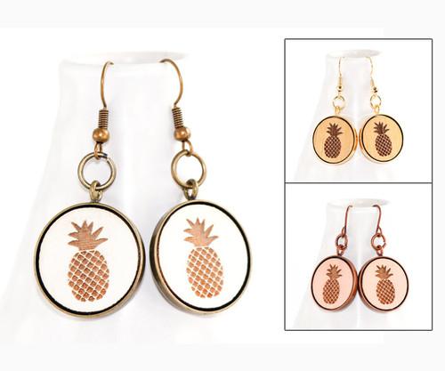 Dangle Earrings - Pineapple