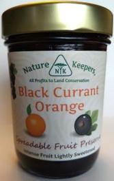 Nature Keepers Black Currant Orange preserve 10oz