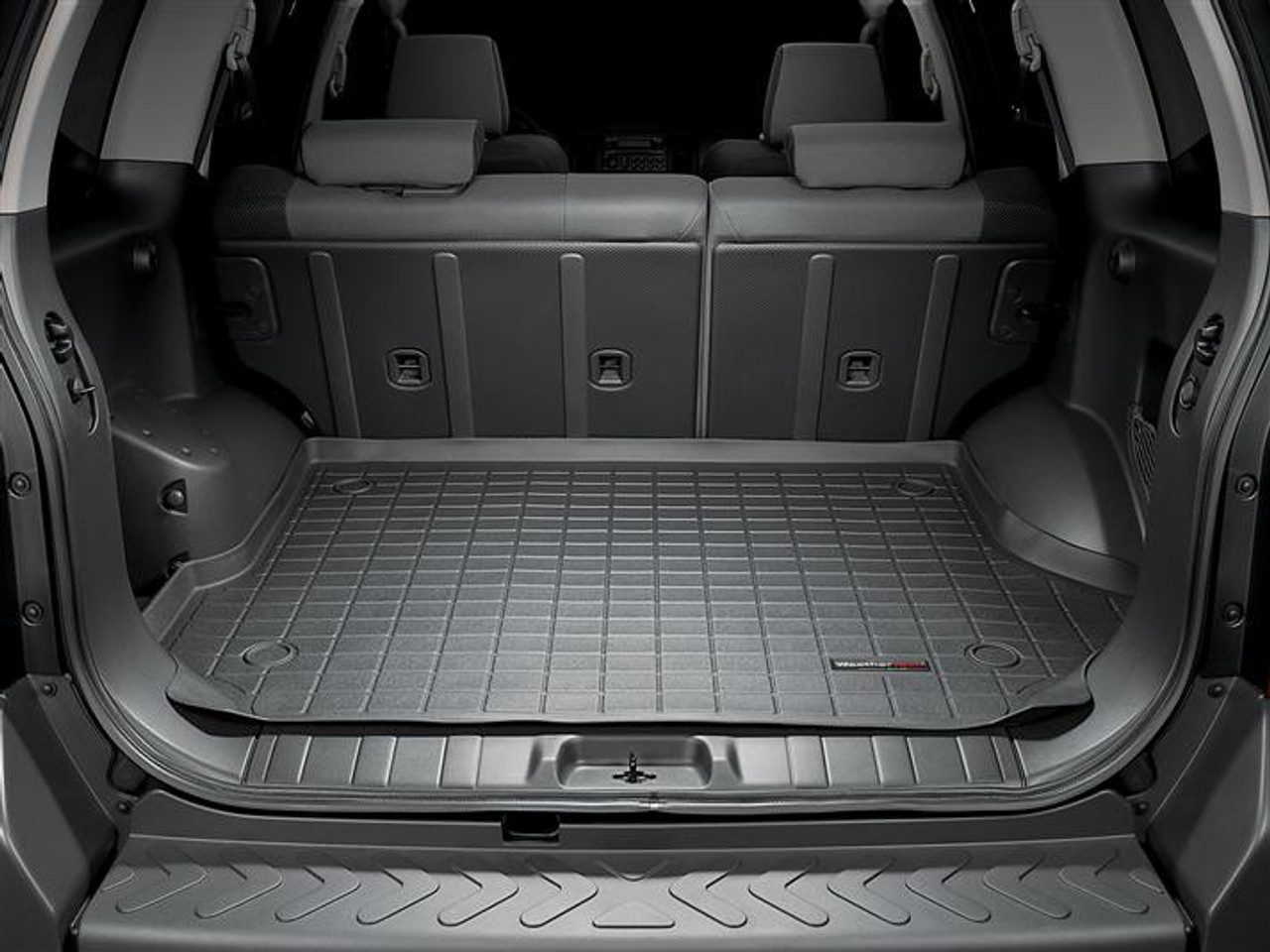 Black Weathertech Custom Fit Cargo Liners For Nissan Rogue Cargo Liners Interior Accessories
