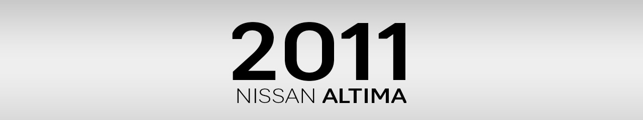2011 Nissan Altima Accessories and Parts