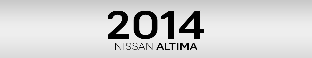 2014 Nissan Altima Accessories and Parts