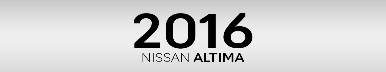 2016 Nissan Altima Accessories and Parts