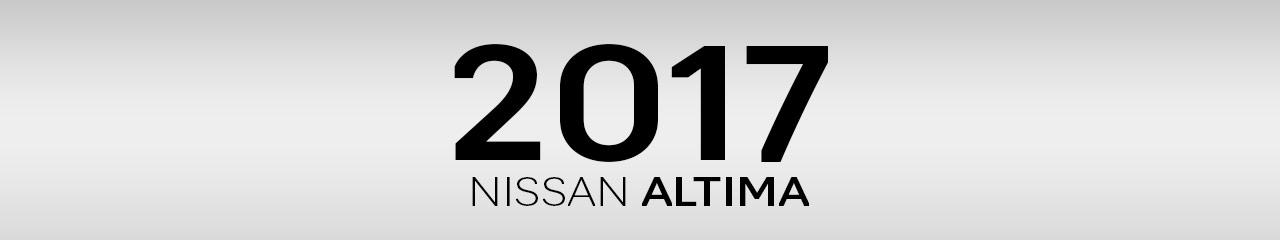 2017 Nissan Altima Accessories & Parts