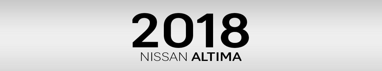 2018 Nissan Altima Sedan Accessories and Parts