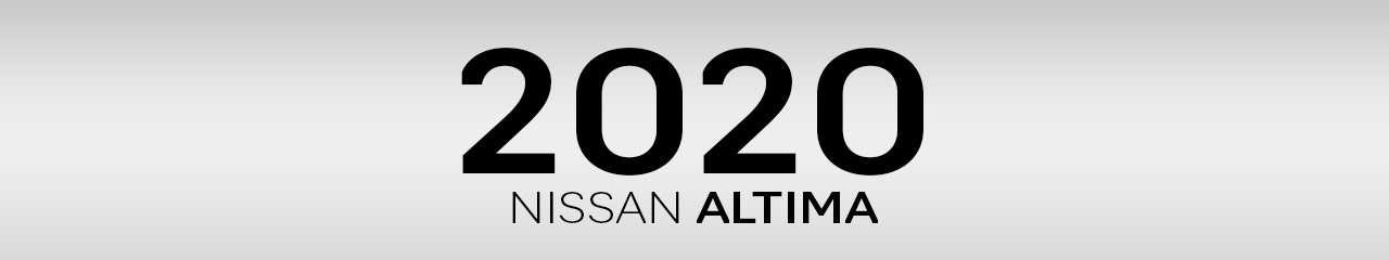 2020 Nissan Altima Accessories and Parts