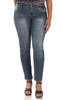 Plus Size Luscious Curvy Skinny Jeans In Candice