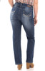 "Plus Luscious Curvy Basic Bootcut Jeans (30-32-34"") In Addison"
