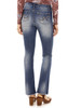 High Waisted Irresistible Slim Bootcut Jeans In Luna