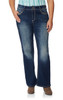 Plus Size Luscious Curvy Bling Bootcut Jeans In Cecille
