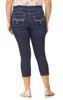 Plus Size InstaSoft™ Ultra Skinny Crop Jeans In Castle