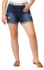 Plus Size Belted Legendary High Rise Shorts In Betsy