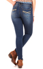"Irresistible Jegging (28-30-32"") In Varsity Blue"