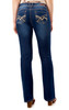 "Luscious Curvy Basic Bootcut Jeans (32-34"") In Addison"