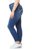 Plus Size Luscious Curvy Bling Skinny Jeans In Luna