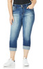 Plus Size InstaStretch™ Luscious Curvy Crop Jeans In Jenna