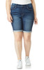 Plus Size Irresistible High Rise Bermuda Shorts In Donna