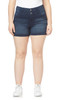 Plus Size InstaSoft™ High Rise Sassy Shorts In Shannon
