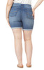 Plus Size Irresistible High Rise Midi Shorts In Holland