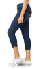 Plus and Juniors InstaSoft™ Ultra Fit Skinny Crop Jeans In Riverton