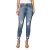 Plus Size High Rise Fearless Curvy Ankle Jeans In Lark