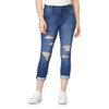 Plus Size Sassy High Rise Skinny Crop Jeans In Harper