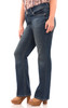 """Plus Luscious Curvy Basic Bootcut Jeans (30-32-34"""") In Katy"""