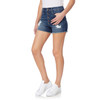 Flirty Curvy Exposed Button Shorty Shorts In Paradise
