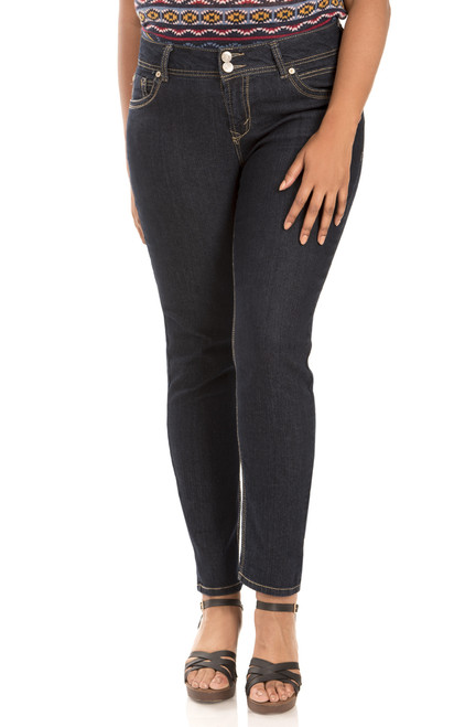 Plus Size Luscious Curvy Skinny Jeans In Elle