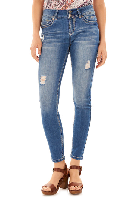 Luscious Curvy Skinny Jeans In Margot