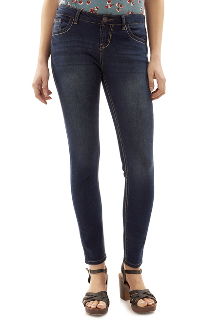 "Basic Legendary Skinny Jeans (28-30-32"") In Scarlett"