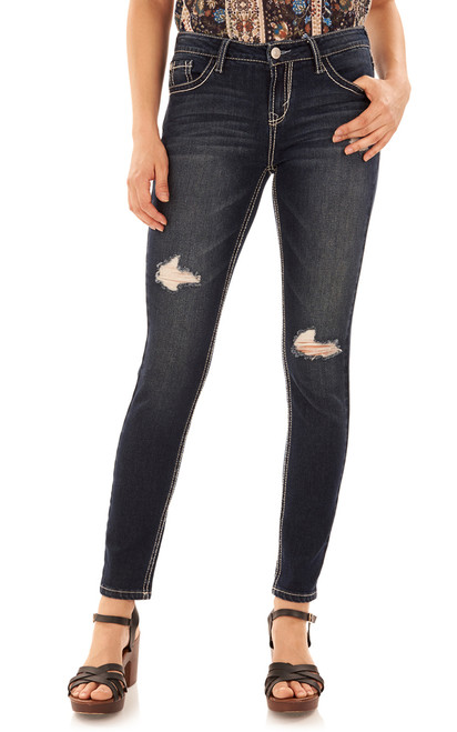 "Basic Legendary Skinny Jeans (28-30-32"") In Dazzler"
