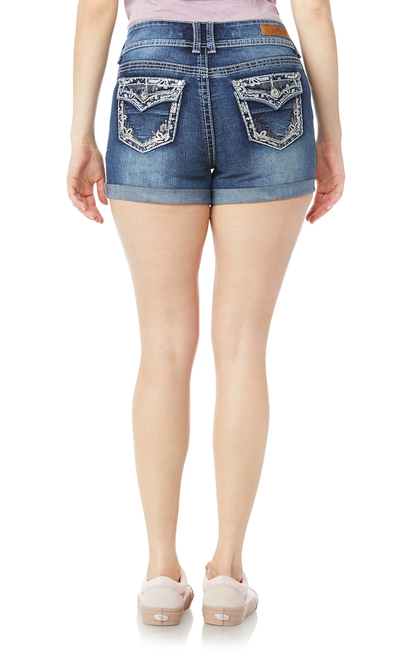 Luscious Curvy Bling Shorty Shorts In Hilaria