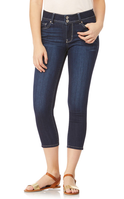 InstaSoft™ Ultra Skinny Crop Jeans In Castle