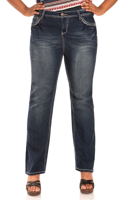 "Plus Size Legendary Bootcut Jeans (30"") In Katy"