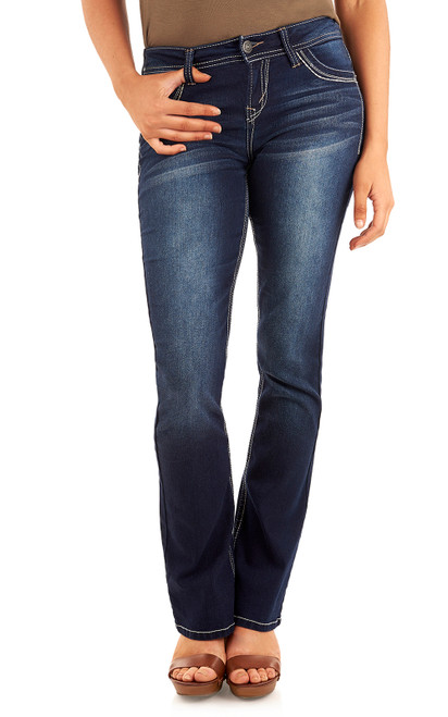 """Classic Legendary Bootcut Jeans (30-32-34"""") In Amy"""