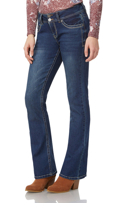 "Luscious Curvy Basic Bootcut Jeans (32-34"") In Katy"