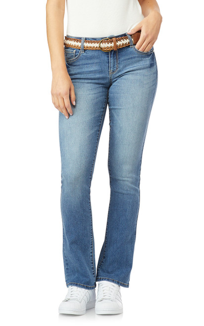 Legendary Belted Slim Bootcut Jeans In Brixton