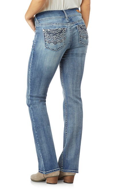 Luscious Curvy Bling Bootcut Jeans In PrimeTime